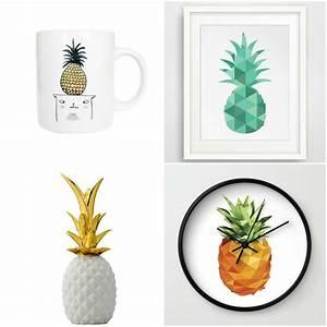 Ananas Deco Blanc : l 39 ananas le fruit star de la d co guten morgwen ~ Teatrodelosmanantiales.com Idées de Décoration
