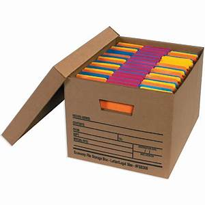 economy file storage boxes with lids With document storage box with lid
