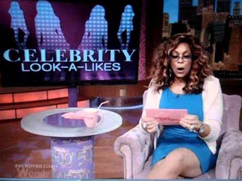 Wendy Williams Show Celebrity Lookalike Segment  Youtube