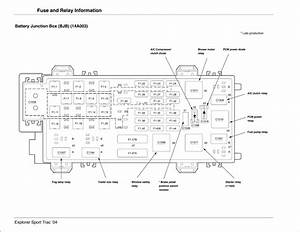 Wiring Diagram  28 2005 Ford Explorer Sport Trac Fuse Box