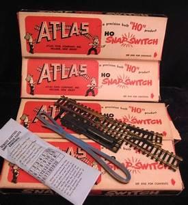 Nos Atlas Ho Model Railroad Snap Switch