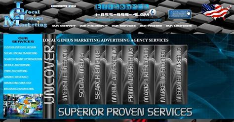 Local Marketing Services - our services local genius marketing advertising agency 1