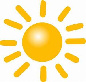 Weather Sunny Clip Art at Clker.com - vector clip art ...