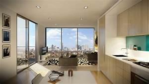 Aménagement Petit Appartement : am nagement petit espace confort fonctionnel ~ Nature-et-papiers.com Idées de Décoration