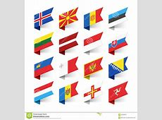 World Flags Europe Cartoon Vector CartoonDealercom