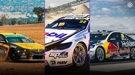 Supercars: The 2019 liveries released, and dates for those ...