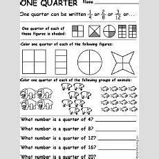 Fraction Worksheets And Books To Print Enchantedlearningcom