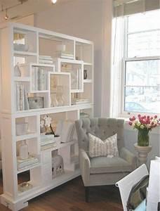 Wohnzimmer Regale : moderne ideen zur optischen trennung durch regal ~ Pilothousefishingboats.com Haus und Dekorationen