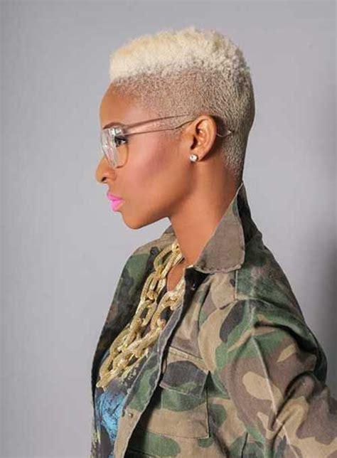 15 Short Blonde Hairstyles For Black Women Hair Black