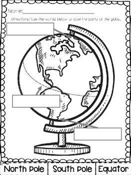label  globe freebie kindergarten  grade