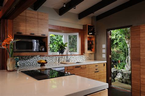 Zen Kitchenisland Style  Tropical  Kitchen  Other  By