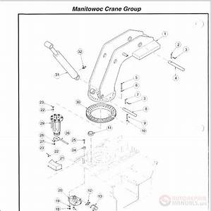 Manitowoc Cranes Grua Hidraulica Yb4409 Parts Manual