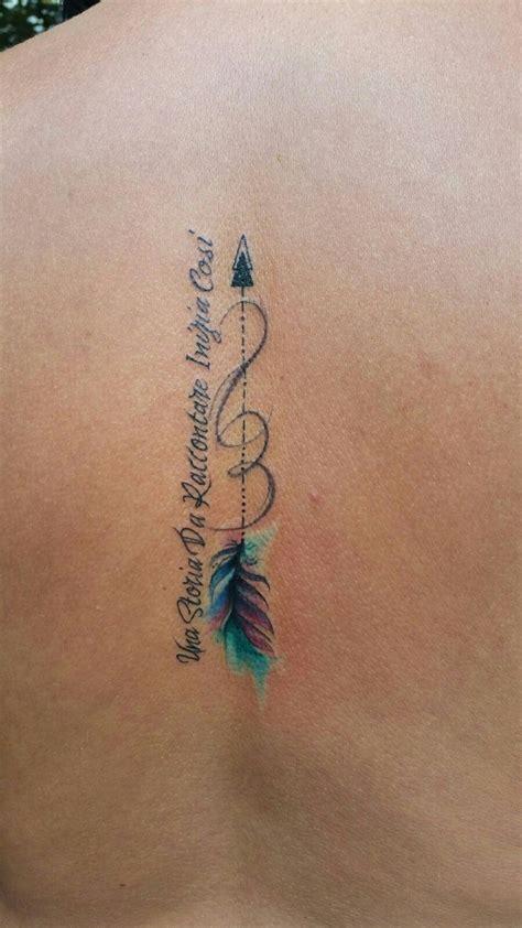feather arrow tattoo ideas  pinterest arrow