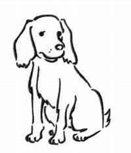 Simple dog outline for a tattoo | Tattoos | Pinterest