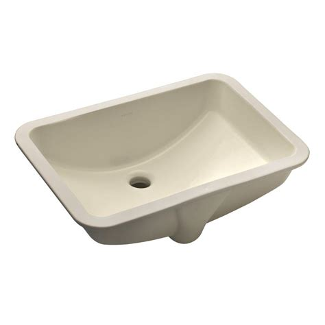 Home Depot Bathroom Sink Drain by Kohler Ladena Vitreous China Undermount Bathroom Sink