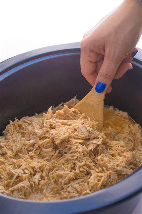 easy chicken breast crock pot recipes asian citrus slow cooker shredded chicken the lemon bowl 174