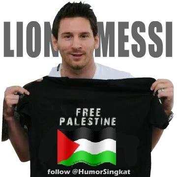 palestine  lionel messi gambar profile