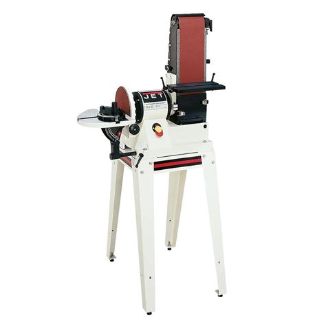 home depot standing ls jet 3 4 hp 6 in x 48 in belt and 9 in disc sander with