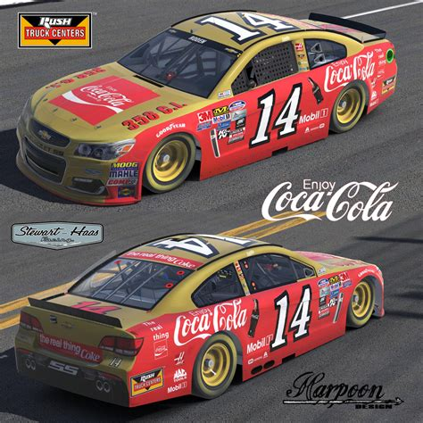 tony stewart darlington throwback coke scheme  brantley