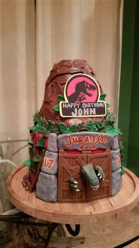 jurassic park cake ideas jurassic park cakes