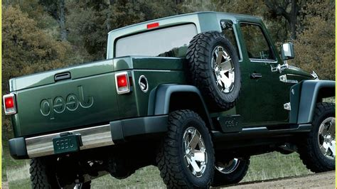 jeep wrangler  unlimited pickup spied interior exterior youtube
