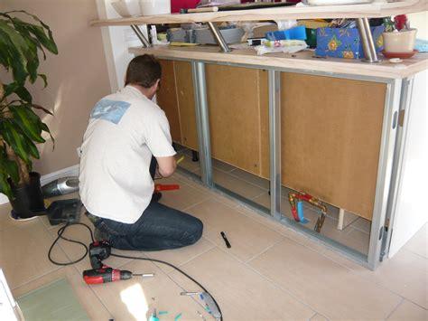 realiser une cuisine en siporex cuisine salle à manger nos rénos décos