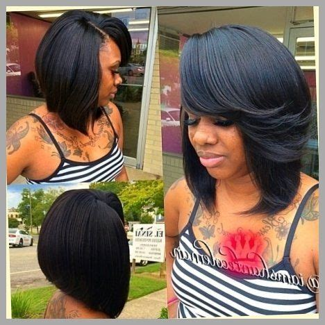 Sew In Weave Bob Hairstyles With Bangs by Bob Sew In Weave Total Hairstyles Pertaining To Sew Ins