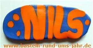 Türschild Kinderzimmer Basteln : t rschild vorname aus fimo basteln rund ums jahr ~ Orissabook.com Haus und Dekorationen