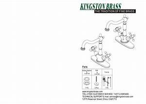 Kingston Brass Hks1430ax Heritage Single Hole 2