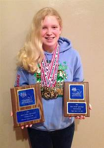 Olivia Bray wins 8 individual, 4 relay events at state ...