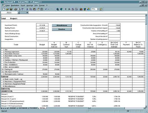 baukosten controlling projektsteuerung
