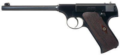 colt automatic target pistol   called  pre