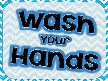 wash  hands posters    grade tpt