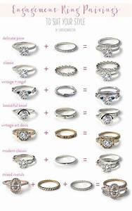 wedding bells our favorite engagement ring wedding band With different wedding ring cuts