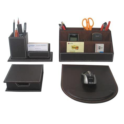 bureau papeterie accessoires bureau cuir