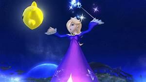 Galaxy Rosalina Super Smash Bros For Wii U Skin Mods