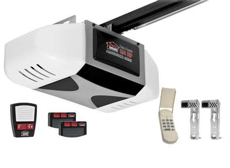 xtreme garage door opener xtreme garage professional series 3 4 hp electric belt