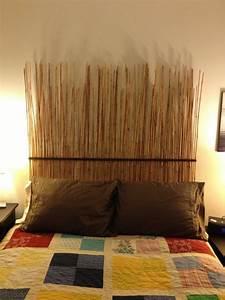 Tete De Lit Bambou : fabriquer une t te de lit originale bricobistro ~ Teatrodelosmanantiales.com Idées de Décoration
