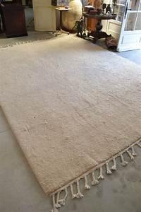 Tapis Laine Blanc : tapis laine blanc id es de d coration int rieure french decor ~ Melissatoandfro.com Idées de Décoration