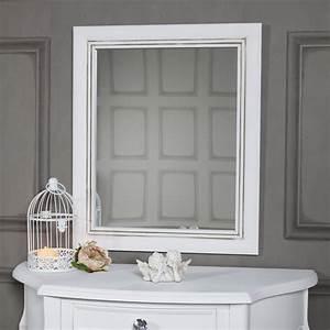 Vintage Spiegel Weiß : gealterte antik wei oval wandmontage spiegel shabby vintage chic franz sisch ebay ~ Indierocktalk.com Haus und Dekorationen