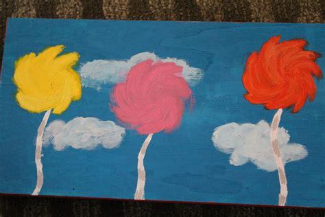 Truffula Tree Painting By Hufflepuff-disney On Deviantart