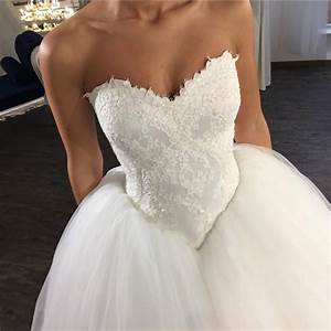v neck wedding dresslace appliques dresstulle ball gowns With wedding dress lingerie