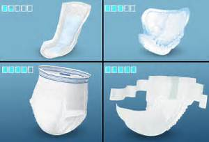 Urinary incontinence products  Bladder Control Incontinence, Urinary