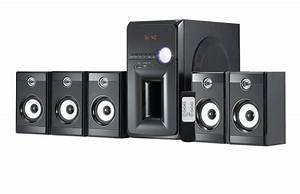 China 5 1 Home Theater Speaker System  La-e5014