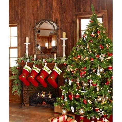 christmas cabin decor pictures photos and images for