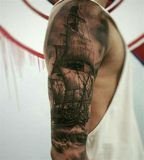 Ship Tattoo Images & Designs