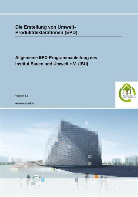 Ibu Institut Bauen Und Umwelt by Mitgliedschaft Ibu Institut Bauen Und Umwelt E V