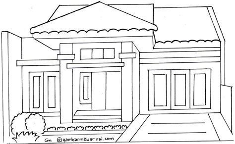Gambar Rumah Adat Indonesia Hitam Putih 54 Gambar Desain Rumah Adat