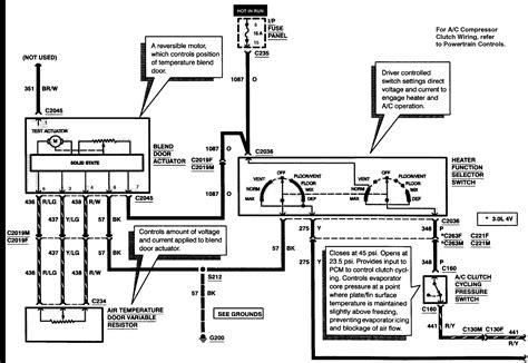 2002 mercury sable wiring diagram electrical website