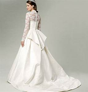 wedding dress bridal gown pattern uncut butterick by With wedding dresses patterns